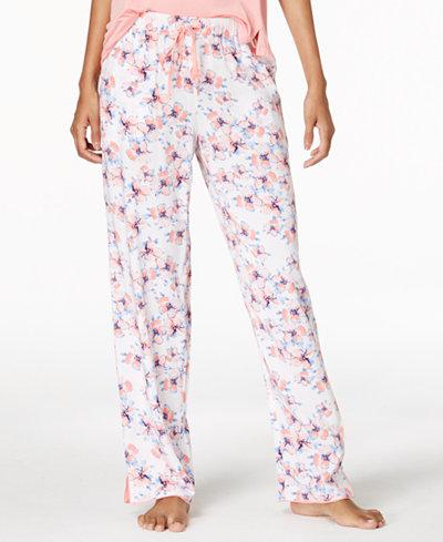 Alfani Woven Printed Pajama Pants, Created for Macy's