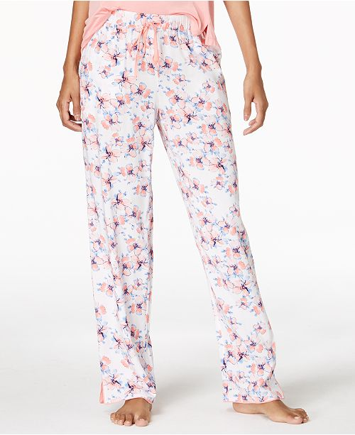 5a4931a59be3 Alfani Woven Printed Pajama Pants, Created for Macy's & Reviews ...