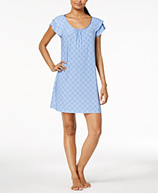 Alfani Flutter-Sleeve Nightgown, Created for Macy's