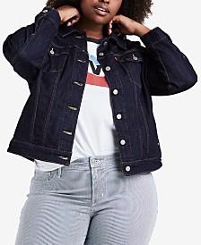 Levi's® Plus Size Trucker Denim Jacket