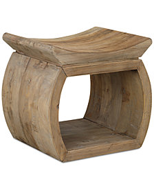 Connor Accent Stool, Quick Ship