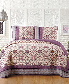 Lola Cotton Quilt and Sham Collection