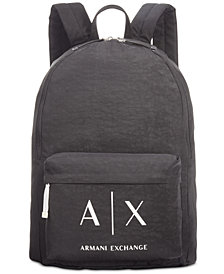 Armani Exchange Men's Logo Backpack