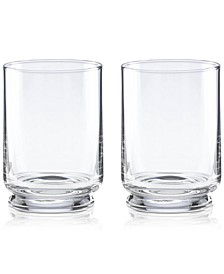 CLOSEOUT! Charles Lane Double Old Fashioned Glasses, Set of 2
