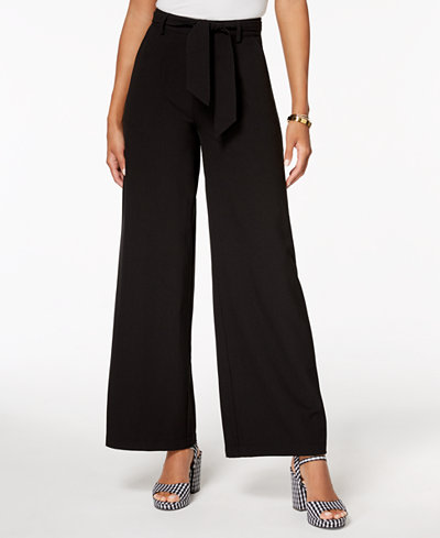 The Edit By Seventeen Juniors' Wide-Leg Pants, Created for Macy's