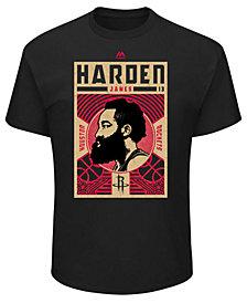 Majestic Men's James Harden Houston Rockets Greatest Impact T-Shirt