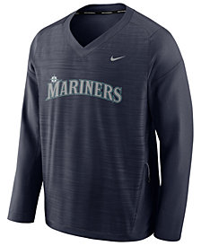 Nike Men's Seattle Mariners Dry Windshirt Top