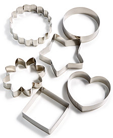 Martha Stewart Collection Set of 6 Cookie Cutters, Created for Macy's