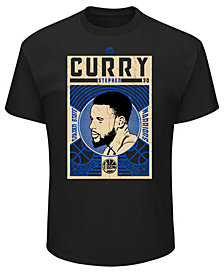 Majestic Men's Stephen Curry Golden State Warriors Greatest Impact T-Shirt