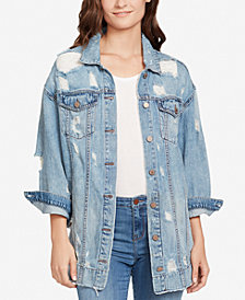 WILLIAM RAST Oversized Denim Trucker Jacket