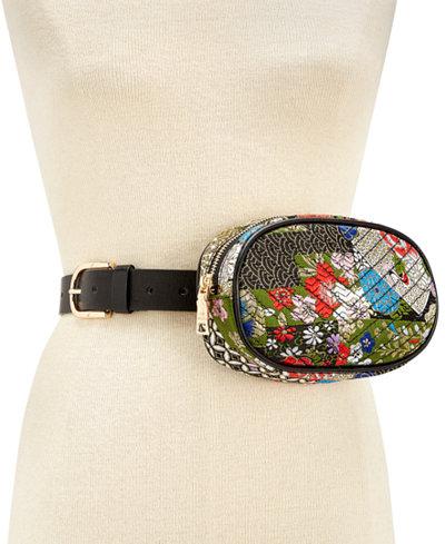 Steve Madden Printed Quilted Belt Bag