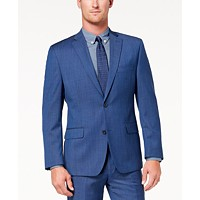 Michael Kors Mens Classic-Fit Airsoft Stretch Solid Suit Jacket