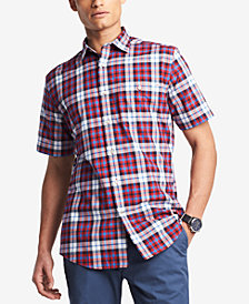 Tommy Hilfiger Men's Budd Plaid Pocket Shirt, Created for Macy's