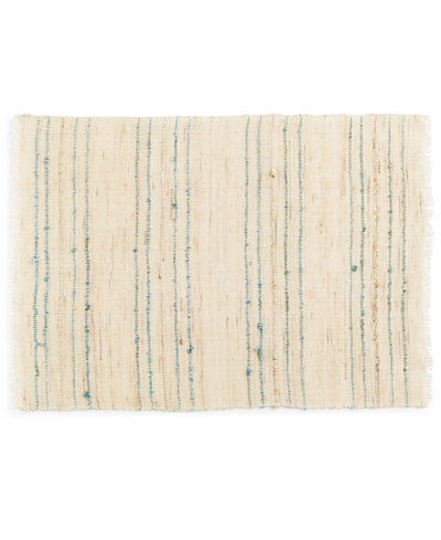 Arlee Home Fashions Bolivia Stripe Blue Placemat