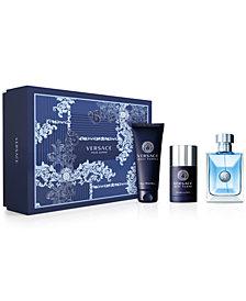 Versace Men's 3-Pc. Versace Pour Homme Gift Set