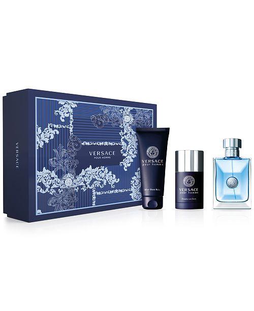 5ab59f076832 Versace Men s 3-Pc. Versace Pour Homme Gift Set   Reviews - All ...