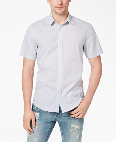 American Rag Men's Corey Dot-Print Short-Sleeve Shirt, Created for Macy's