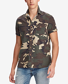 Polo Ralph Lauren Men's Big & Tall Classic Fit Camouflage Shirt