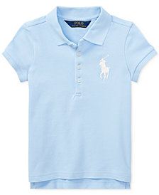 Polo Ralph Lauren Embroidered Polo, Little Girls