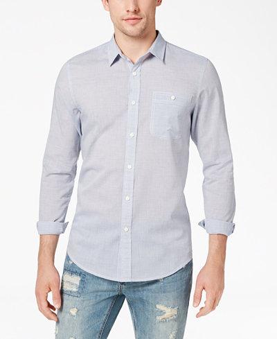 American Rag Men's Stripe Shirt, Created for Macy's