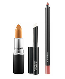 MAC 3-Pc. Bronze Lip Set, Created for Macy's by Romero Jennings, Online Only