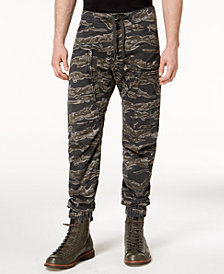 G-Star Men's Powel Qane Camouflage-Print Cargo Joggers, Created for Macy's
