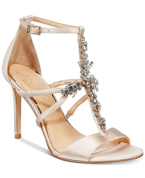 Badgley Mischka Galvin Evening Sandals, Created for Macy's Women's Shoes
