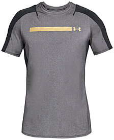 Under Armour Men's Perpetual Metallic-Logo T-Shirt