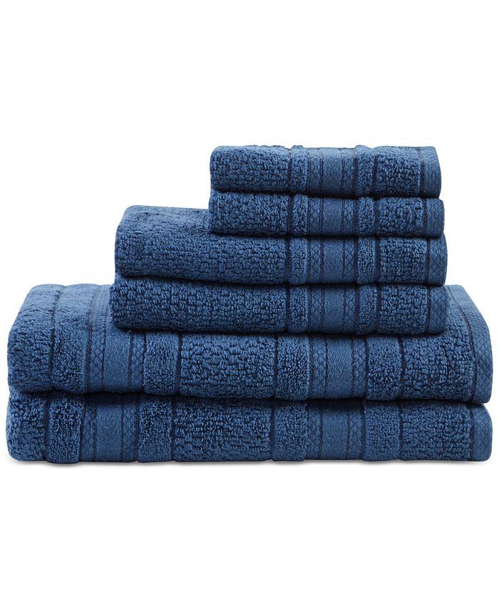 Madison Park - Adrien Cotton 6-Pc. Super-Soft Towel Set