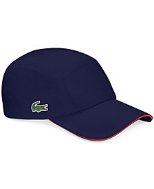 Lacoste Men's Diamond-Weave Taffeta Sport Hat