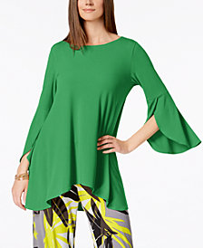 Alfani Tulip-Sleeve Top, Created for Macy's