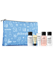 Receive a FREE 6-Pc. gift with any $100 philosophy purchase, Created for Macy's