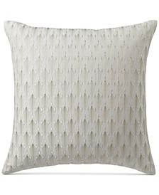 "CLOSEOUT! Plume 20"" Square Decorative Pillow, Created for Macy's"