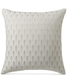 "Hotel Collection Plume 20"" Square Decorative Pillow, Created for Macy's"