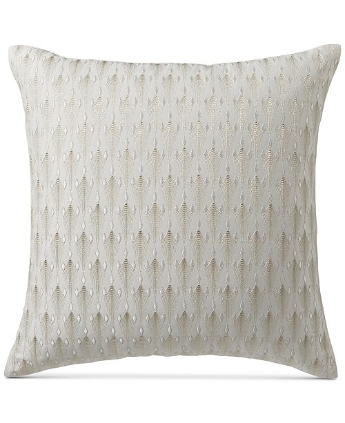 Hotel Collection Plume 40 Square Decorative Pillow Created For Custom Hotel Collection Decorative Pillows