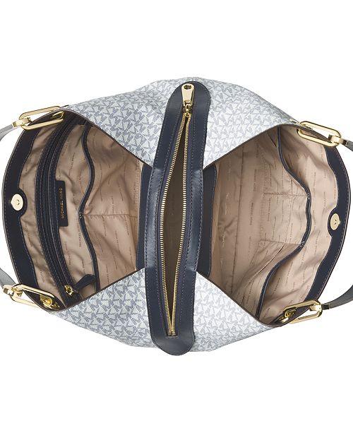 00eb9e832b63 Michael Kors Signature Raven Large Tote & Reviews - Handbags ...