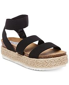 Steve Madden Women's Kimmie Flatform Espadrille Sandals