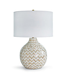 Regina Andrew Chevron Bone Table Lamp
