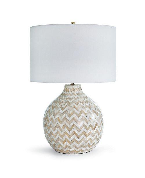 Regina Andrew Chevron Bone Table Lamp