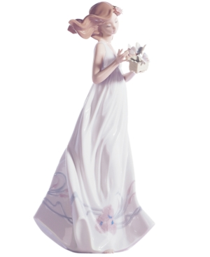 Lladro Collectible Figurine, Butterfly Treasures