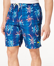 Tommy Bahama Men's Baja Palm Illusion Print Classic-Fit 9'' Swim Trunks