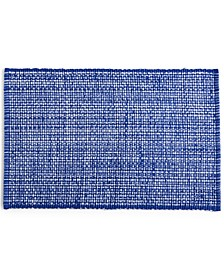 CLOSEOUT! Blue Woven Cotton Placemat, Created for Macy's