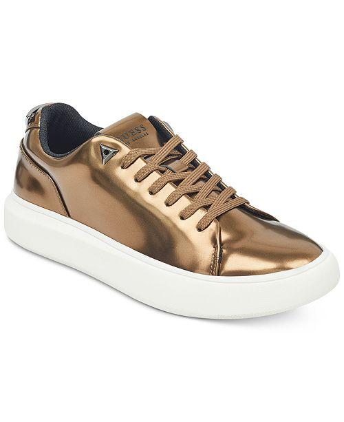 94847a70665 GUESS Men s Delacruz Low-Top Sneakers   Reviews - All Men s Shoes ...