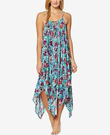 Jessica Simpson Handkerchief-Hem Cover-Up Dress
