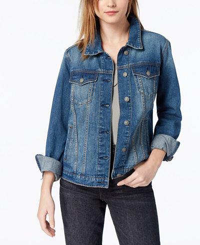 Silver Jeans Co. Juniors' Sinclair Denim Jacket