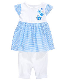 First Impressions Tunic & Leggings Set, Baby Girls, Created for Macy's