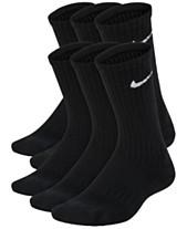 free shipping 5de5f 5ac40 Nike 6-Pk. Cushioned Crew Socks, Big Boys. Quickview. 3 colors