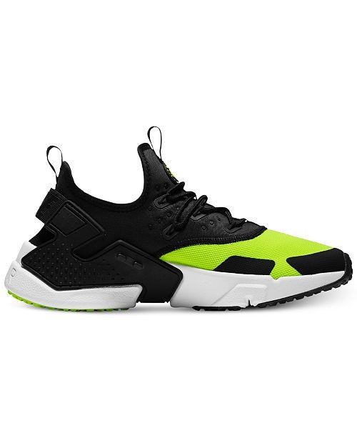 Nike Men s Air Huarache Run Drift Casual Sneakers from Finish Line ... e4d5c0a2949