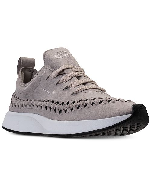 innovative design 8202b 65999 ... Nike Women s Dualtone Racer Woven Casual Sneakers from Finish ...