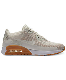 Nike Women's Air Max 90 Ultra 2.0 Flyknit Running Sneakers from Finish Line